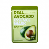 Маска для лица тканевая с экстрактом авокадо FarmStay Real Avocado Essence Mask, 23 гр