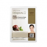 Маска для лица тканевая с улиткой и коллагеном Dermal Snail Essence Mask, 23 гр
