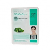 Маска для лица тканевая с алоэ и коллагеном Dermal Aloe Collagen Essence Mask, 23 гр