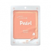 Маска для лица тканевая с жемчугом MIJIN Care Pearl Essence Mask, 22 гр