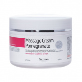 Массажный крем для лица с экстрактом граната Skindom (Скиндом) Massage Cream Pomegrante, 250 мл