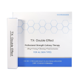 Карбокситерапия. Комплект геля и масок для лица и шеи TX-Double Effect Professional Strength Carboxy Therapy CO2 Gel Mask, 25 мл * 5 шт.