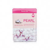 Маска для лица тканевая с экстрактом жемчуга FarmStay Visible Difference Mask Sheet Pearl, 23 гр