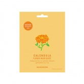 Маска для лица тканевая с экстрактом календулы Baroness (Баронес) Calendula Blossom Flower Mask Sheet, 21 гр