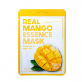 Маска для лица тканевая с экстрактом манго FarmStay Real Mango Essence Mask, 23 гр