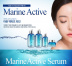 Сыворотка для лица с гиалуроновой кислотой и керамидами The Skin House Marine Active Serum, 50 мл