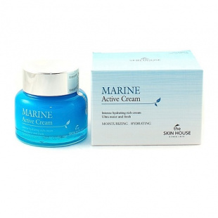 Крем для лица с керамидами The Skin House Marine Active Cream, 50 мл