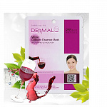 Маска для лица тканевая с вином и коллагеном Dermal Wine Collagen Essence Mask, 23 гр