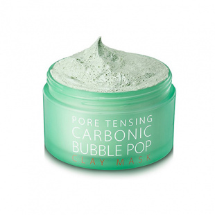 Глиняно-кислородная маска So Natural (Со Натурал) Pore Tensing Carbonic Bubble Pop Clay Mask, 130 мл